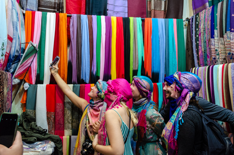 Marrakech scarves
