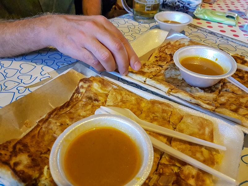 Food tour in Singapore