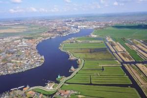 Zaanse Schans from above
