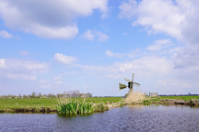 canal cruise from Broek in Waterland