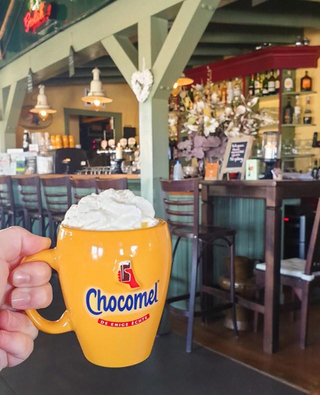 de Kleine Haag hot chocolate