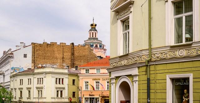 Vilnius street - full of things to do in Vilnius