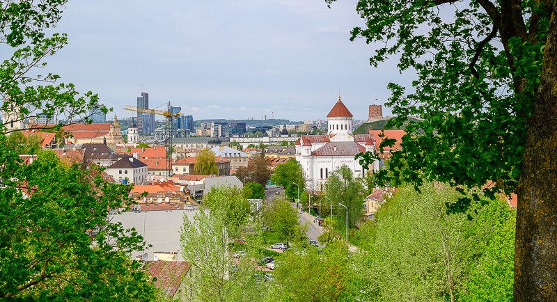 Things to do in Vilnius - find overlooks