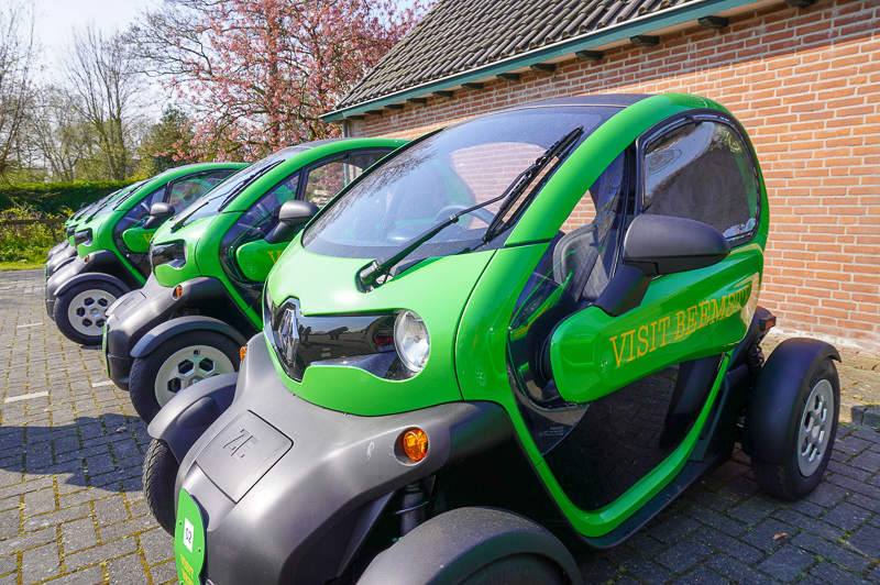 Twizy in Beemster