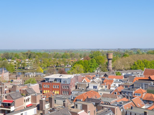 View from tower in Woerden