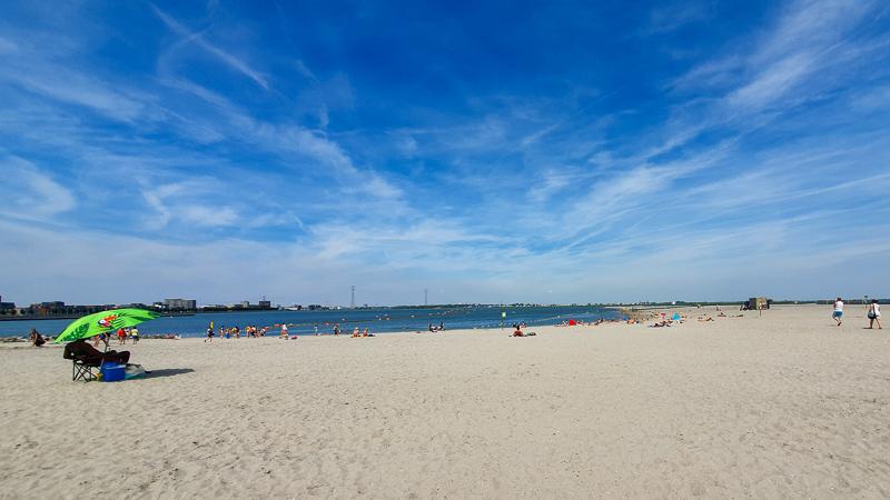 Amsterdam beach views