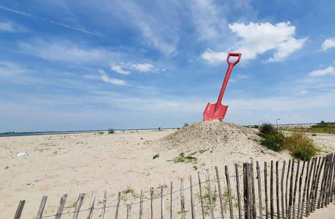 Where is the Amsterdam Beach (AKA the IJburg Beach)?