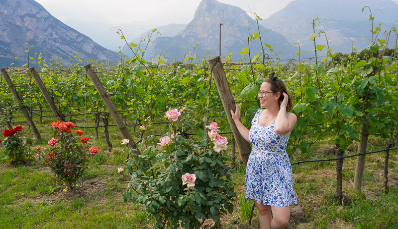 Jessica at Pisoni Winery