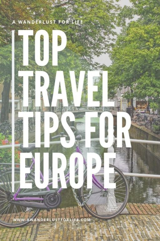 Top travel tips for Europe