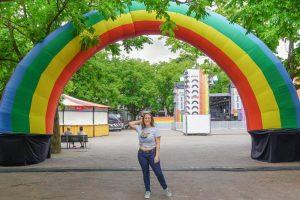 Jessica at Amsterdam Pride