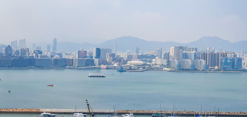 Kowloon Hong Kong skyline