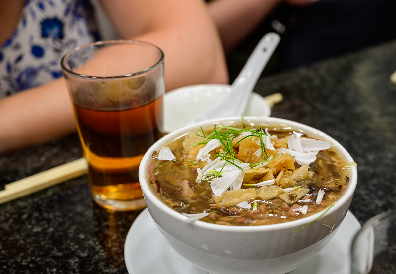 Snake soup on the After Dark Food Crawl