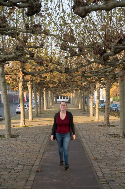 Jessica in the Eastern Docklands