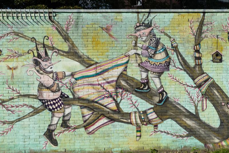 Street art in Nieuw West