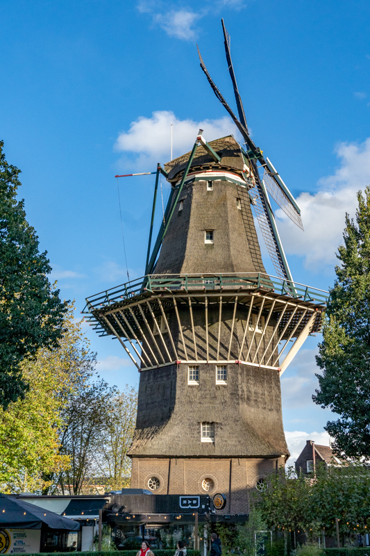 brewery in a windmill