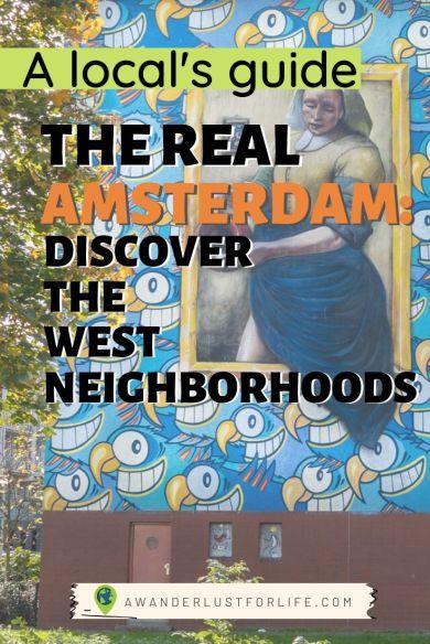 Amsterdam west neighborhood