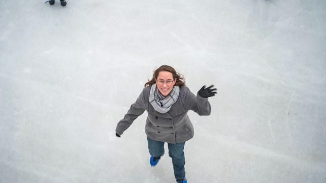Jessica Ice Skating