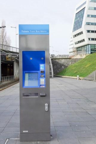 GVB ticket machine