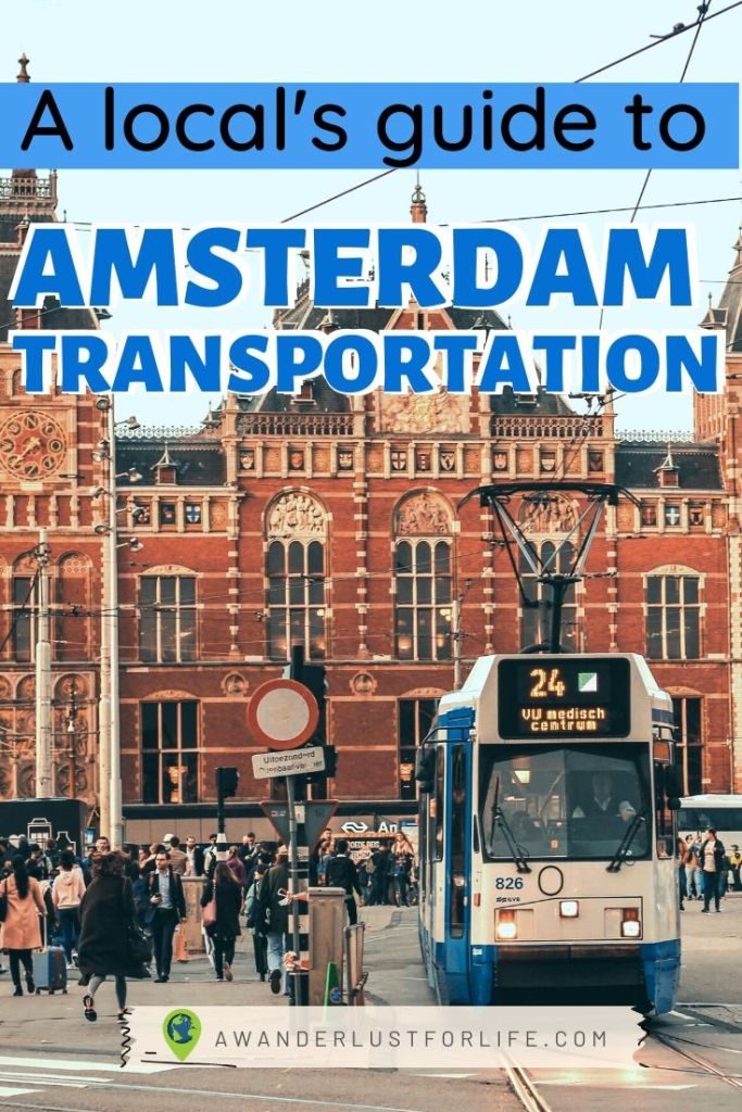 amsterdam transit pin