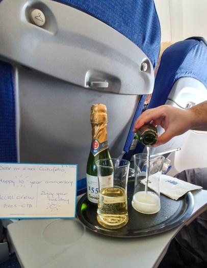 KLM anniversary gift