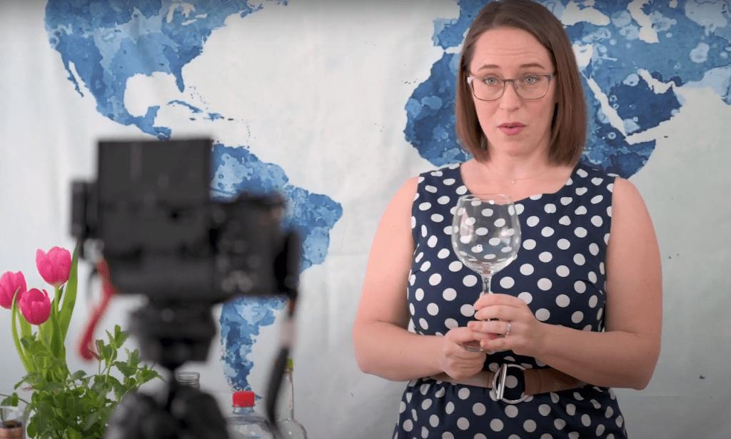 jessica making a video