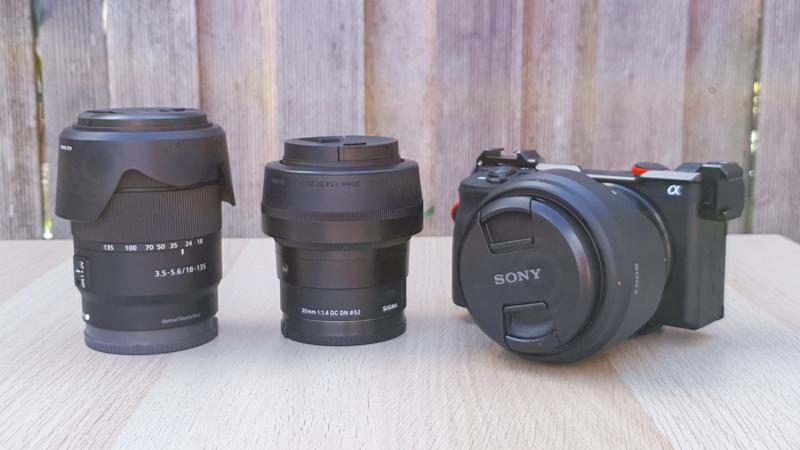 Sony a6600 plus lenses