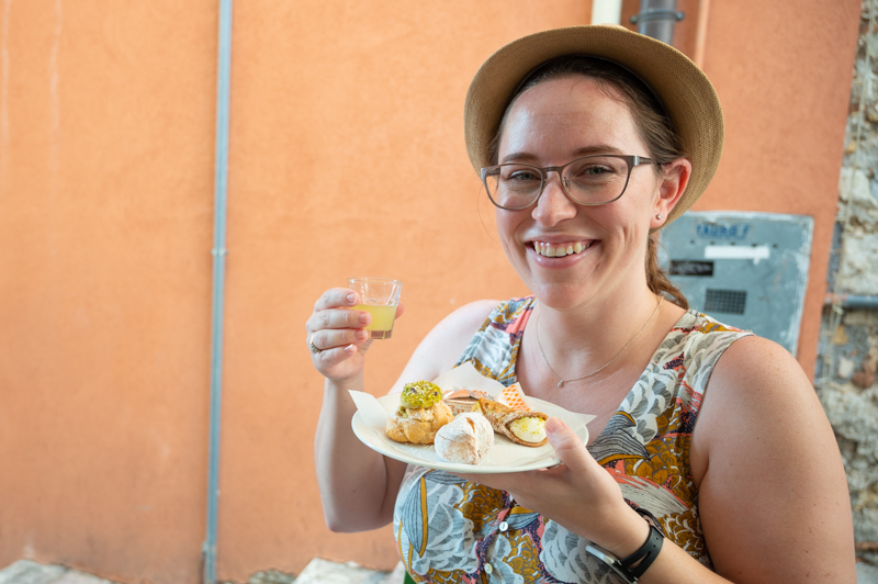Foods to try in Taormina Sicily