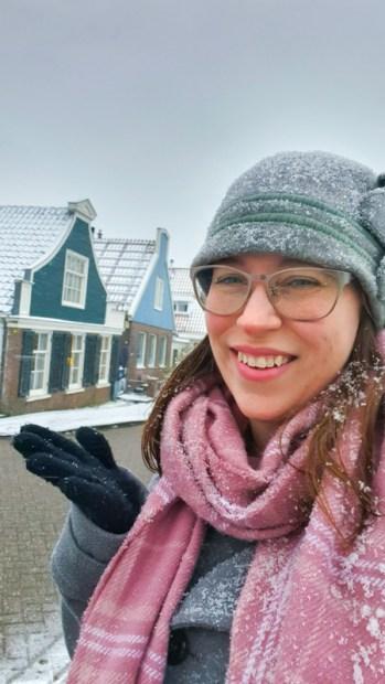 Jessica in the snow