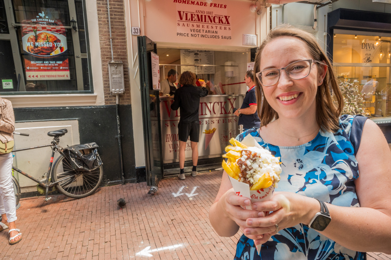 DIY Street food tour in Amsterdam