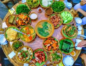Dai cusine ( 傣菜 - Dai cai) Mengla