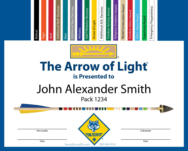 Award Arrow Kits