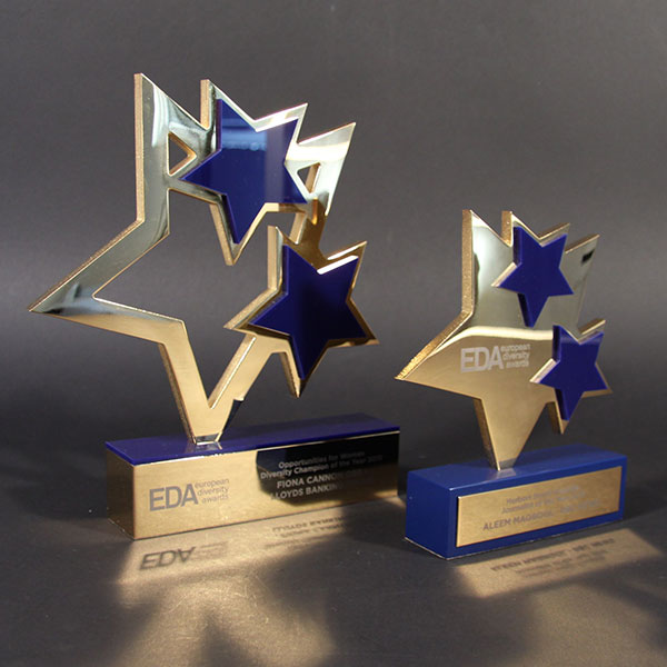 Bespoken Metal Awards  Acrylic Trophies Designed by