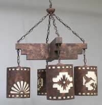 Southwestern and Western Chandeliers