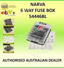 narva 54446 6 way fuse box marine motorhome 12v marine caravan car motorhome [ 1526 x 1532 Pixel ]
