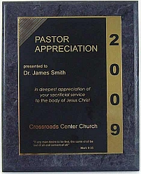 Pastor Appreciation Plaque Is A Great Way To Honor Your