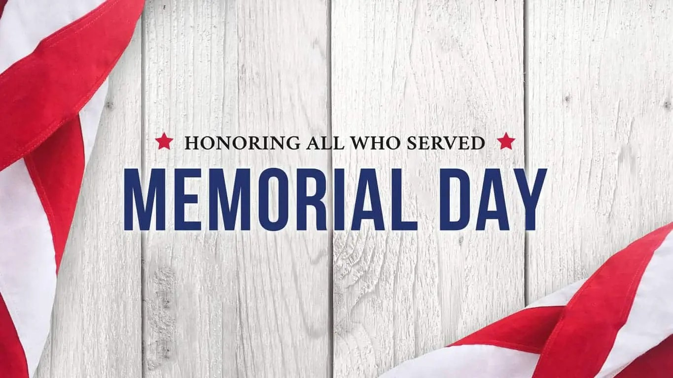 National Memorial Day In The Usa
