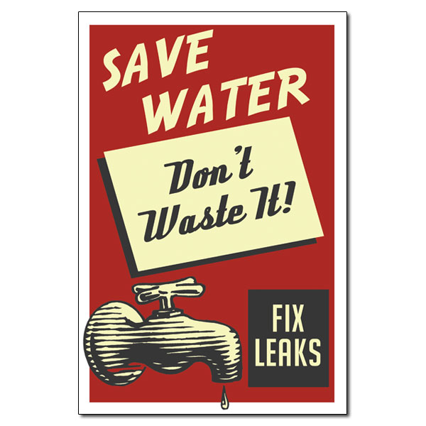 Conservation Poster Water Ideas