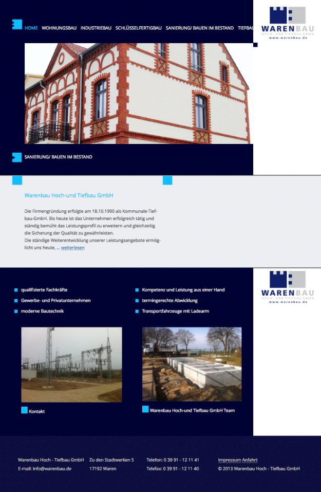 Webseitenerstellung Webdesign Neubrandenburg Anja Wießmann