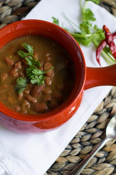 Slow Cooker Charro Beans