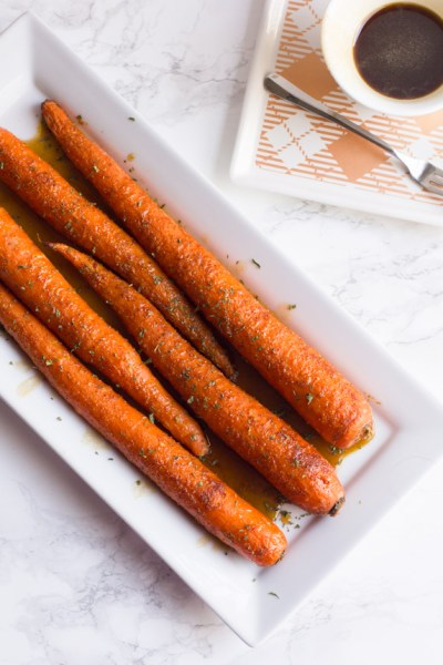 Sweet N' Spicy Brown Sugar Carrots