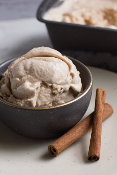 Cinnamon Bun Ice Cream