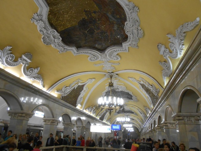 Moscow Metro stations are on point // Moscow, Russia