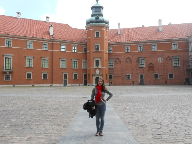 Traveling solo in Poland // Royal Palace, Warsaw