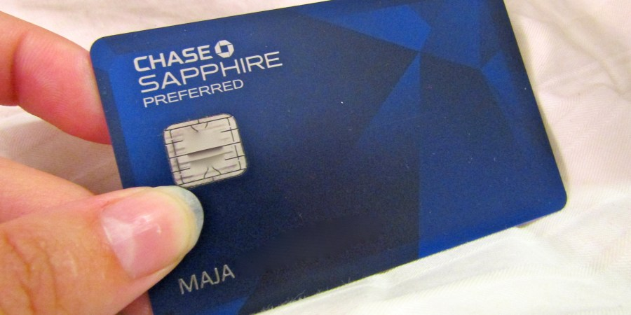 Review Chase Sapphire Preferred Credit Card Or How I Went To Las