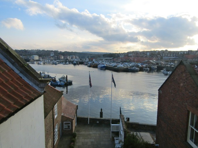 View from the attic of the Captain Cook Museum // Whitby, England