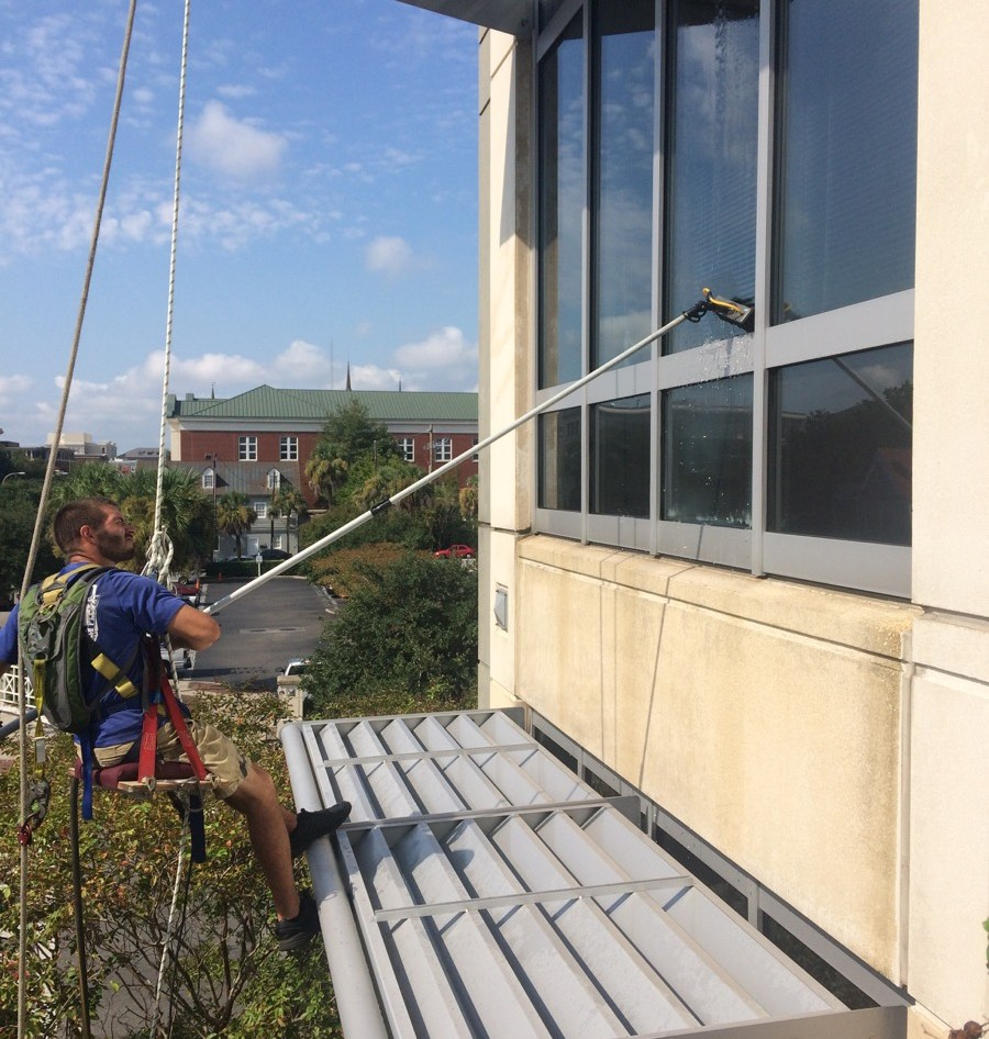Intuitive Solutions Window Cleaning Ambassador Window