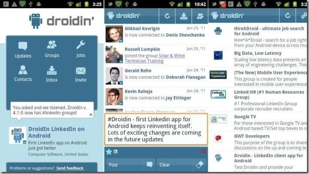 Droidin app