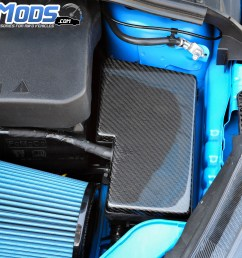 cal pony cars carbon fiber fuse box cover for the ford focus rs st  [ 4608 x 3072 Pixel ]