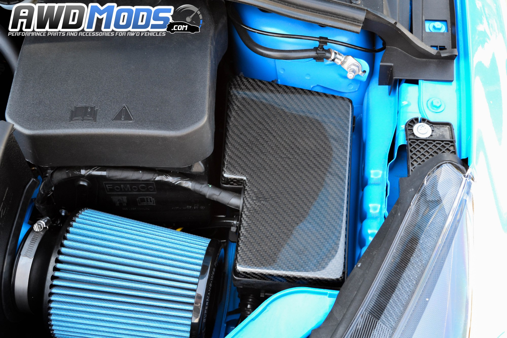 hight resolution of  cal pony cars carbon fiber fuse box cover for the ford focus rs st