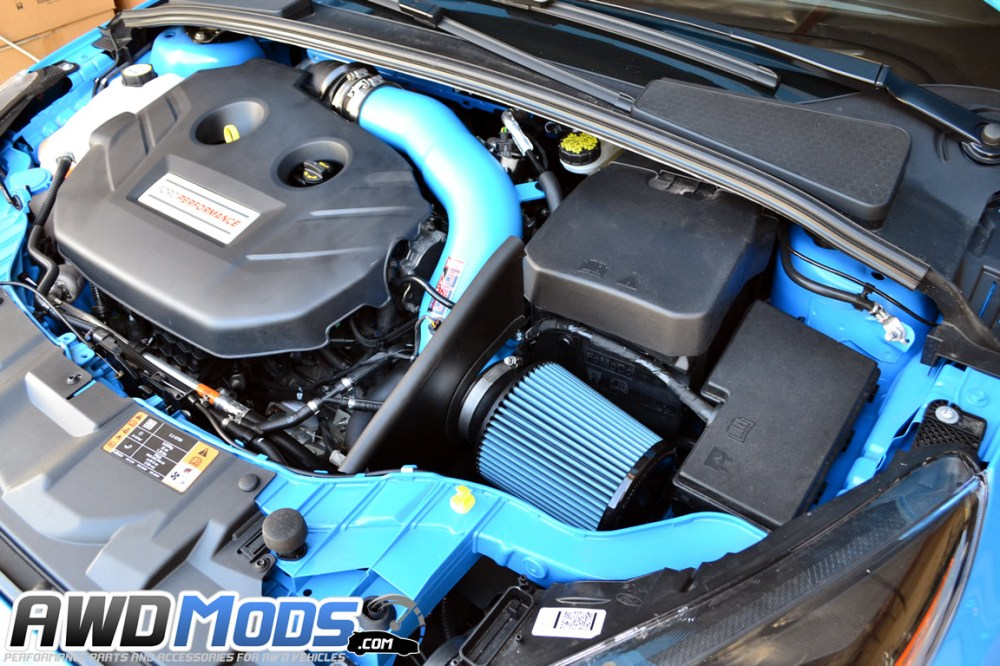 medium resolution of  injen cold air intake for the ford focus rs